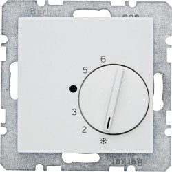 Термостат комнатный Berker, белый, 20268989
