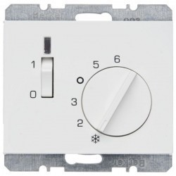 Термостат комнатный Berker, белый, 20307109