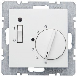Термостат комнатный Berker, белый, 20308989