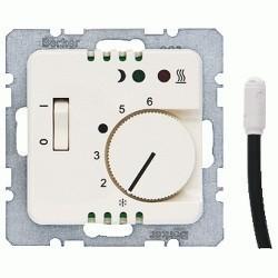 Механизм термостата для теплого пола Berker, с датчиком, 203410