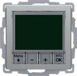 Термостат комнатный Berker, алюминий бархатный, 20446084