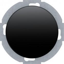 Светорегулятор-переключатель поворотный Berker R.CLASSIC, 420 Вт, черный блестящий, 28342045
