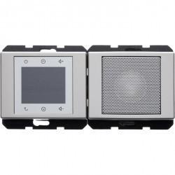 Arsys Berker Radio Touch с динамиком 87,5…108МГц 230В~ 50/60Гц , cтальн. металл