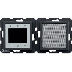S.1/B.3/B.7 Berker Radio Touch с динамиком 87,5…108МГц 230В~ 50/60Гц , антрац. матовый