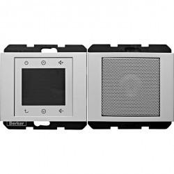 K.1/K.5 Berker Radio Touch с динамиком 87,5…108МГц 230В~ 50/60Гц , алюм. матовый