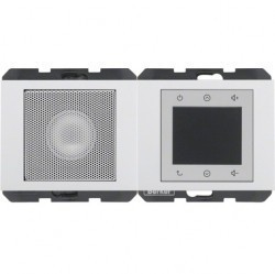 K.1/K.5 Berker Radio Touch с динамиком 87,5…108МГц 230В~ 50/60Гц , антрац. матовый