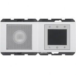 K.1/K.5 Berker Radio Touch с динамиком 87,5…108МГц 230В~ 50/60Гц , бел.