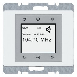 Arsys Berker Radio Touch 87,5…108МГц 230В~ 50/60Гц , бел.