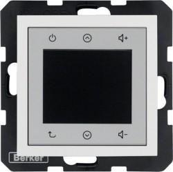 S.1/B.3/B.7 Berker Radio Touch 87,5…108МГц 230В~ 50/60Гц , алюм. матовый