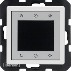 Q.1/Q.3 Berker Radio Touch 87,5…108МГц 230В~ 50/60Гц , черн. бархат