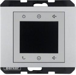 K.1/K.5 Berker Radio Touch 87,5…108МГц 230В~ 50/60Гц , алюм. матовый