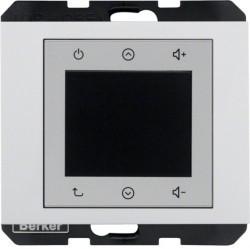 K.1/K.5 Berker Radio Touch 87,5…108МГц 230В~ 50/60Гц , антрац. матовый