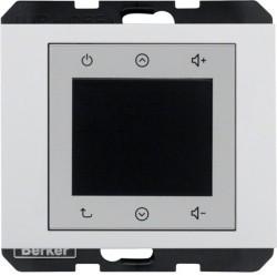 K.1/K.5 Berker Radio Touch 87,5…108МГц 230В~ 50/60Гц , бел.