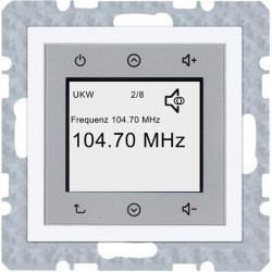 S.1/B.3/B.7 Berker Radio Touch 87,5…108МГц 230В~ 50/60Гц , бел.