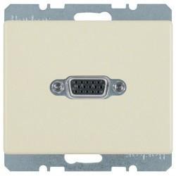 Розетка VGA Berker ARSYS, бежевый, 3315400002