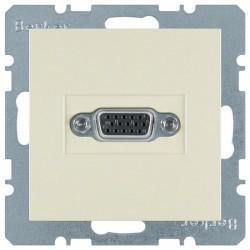 Розетка VGA Berker, бежевый, 3315408982