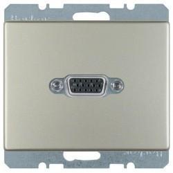 Розетка VGA Berker ARSYS, стальной, 3315409004