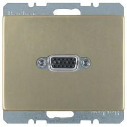 Розетка VGA Berker ARSYS, бронза, 3315409011