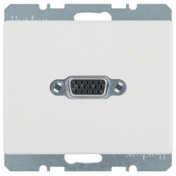 Розетка VGA Berker ARSYS, белый, 3315410069