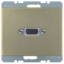 Розетка VGA Berker ARSYS, бронза, 3315419011