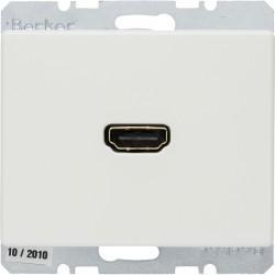 Розетка HDMI Berker ARSYS, белый, 3315420069