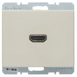 Розетка HDMI Berker ARSYS, бежевый, 3315430002