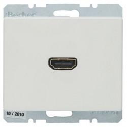Розетка HDMI Berker ARSYS, белый, 3315430069