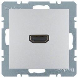 Розетка HDMI Berker, алюминий, 3315431404