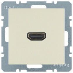 Розетка HDMI Berker, бежевый, 3315438982