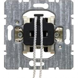 Механизм выключателя 1-клавишного Berker Коллекции Berker, скрытый монтаж, 395619