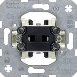 Механизм переключателя 1-клавишного кнопочного Berker Коллекции Berker, скрытый монтаж, 503101