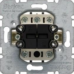 Механизм кнопочного выключателя для жалюзи 2-клавишного Berker Коллекции Berker, 503404