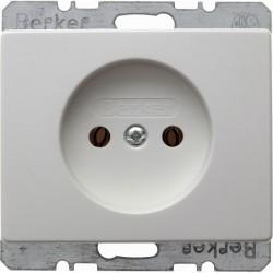 Розетка Berker ARSYS, скрытый монтаж, белый, 6161150069