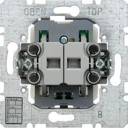 Двухклавишная кнопка с шинным контролером instabus KNX/EIB