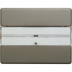 KNX Arsys Клавишный сенсор с полем для надписей, 1-кан. , светло-бронз. металл.