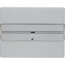 KNX Arsys Клавишный сенсор с полем для надписей, 1-кан., бел.