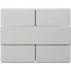 KNX Arsys Клавишный сенсор, 2-кан., бел.