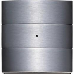 Клавишный сенсор Комфорт, 3-канальный цвет: нержавеющая сталь B.IQ