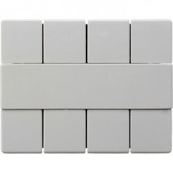 KNX Arsys Клавишный сенсор, 4-кан., бел.