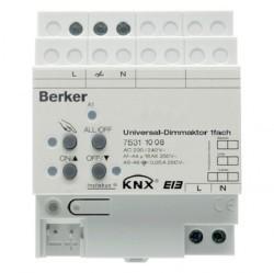 KNX instabus Исполнительное устройство универсального диммера, 1-канальное, REG