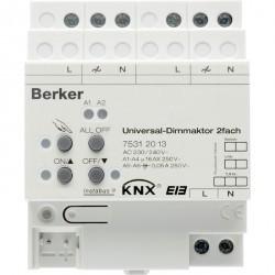 instabus KNX/EIB Исполнительное устройство универсального диммера, 2-канальное, REG
