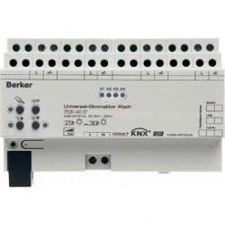 Исполнительное устройство универсального диммера, 4-канальное, 210 Вт/ВA, статус, REG цвет: светло-с