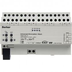 KNX Исполнительное устройство универсального диммера, 4-канальное, светло-серый