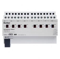KNX Исполнительное устройство 8 А, 16-канальное, REG цвет: светло-серый instabus