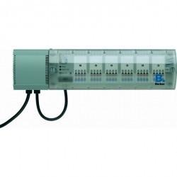 KNX Исполнительное устройство управления отоплением Triac, 24 В ~, 6-канальное, для наружного монтаж