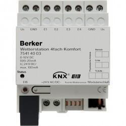 Метеостанция Комфорт, 4-канальная, REG цвет: светло-серый instabus KNX/EIB