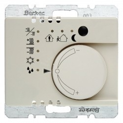 KNX Arsys KNX Регулятор температуры с кнопочным интерфейсом, беж.