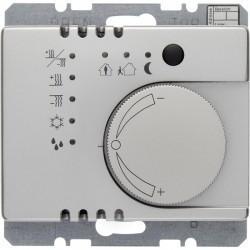KNX Arsys KNX Регулятор температуры с кнопочным интерфейсом, стальн. металл.