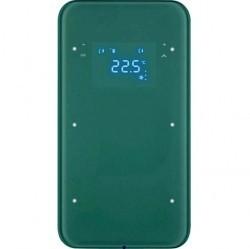 Touch sensor, 2-канальный, стекло, with thermostat, полярн.белый, R.1