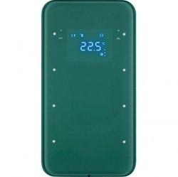 Touch sensor, 3-канальный, стекло, with thermostat, полярн.белый, R.1